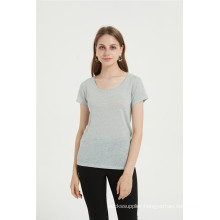 Casual Cotton Blend Women Tshirt For Summer