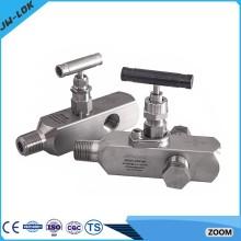 La plus haute valve de jauge haute pression SS et les collecteurs à cinq soupapes en Chine