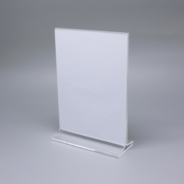 Clear Akryl Tabell Pris Display Stand
