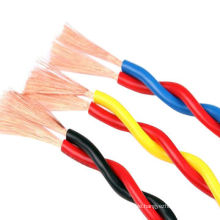 Pvc insulated flexible cable wire electrical 450/750V 2.5mm