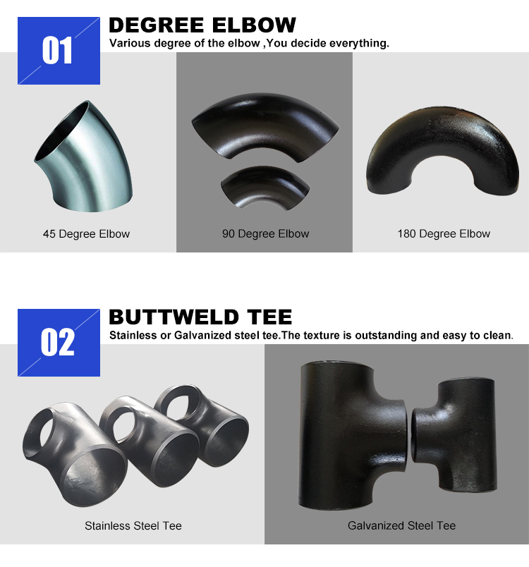 Custom Steel Pipe Fittings
