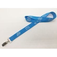 Polyester Material Polyester Lanyard Silk Screen