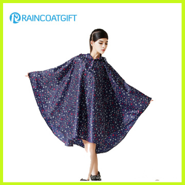 Allover Printed Fashion Frauen EVA Regen Poncho