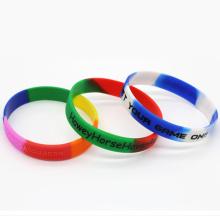 Silicone Energy Bracelet, Silicone Charm Bracelet, Thin Rubber Bracelet