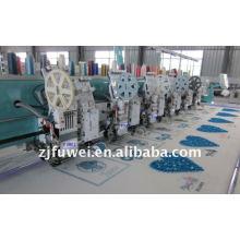 Máquina de bordar com cabeça múltipla de 6 cabeças