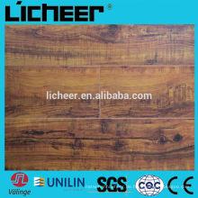 Laminatfußbodenhersteller in China mit mittlerer geprägter Oberfläche 8.3mm / einfacher Laminatboden