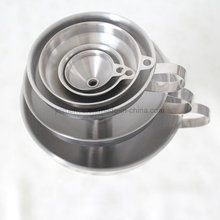 Different Sizes Stainless Steel Funnel, 6PCS Set Metal Funnel, Small Funnel