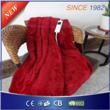 Cozy Electric Throw Blanket für EU-Markt mit Zertifikat Genehmigung