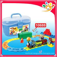 2014 HEISSE VERKAUFSPRODUKTE! 10688 TRACK CAR elektrische Zug Modell Zug Blöcke Spielzeug Zug