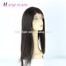 Direct cheveux usine en gros prix non transformés dentelle avant perruque vierge pleine dentelle perruques