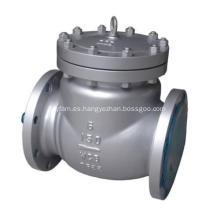 Válvula de retención oscilante de acero fundido