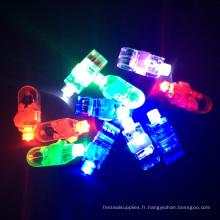 Nouvel An Party Laser Rave Bright LED Finger Light