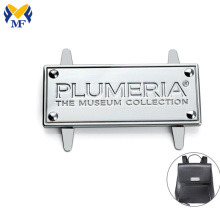 nameplate maker custom handbag metal plate