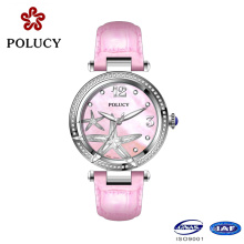 2016 Beautiful Wrist Watches Small Dial Watches for Women Genuine Leather Quartz