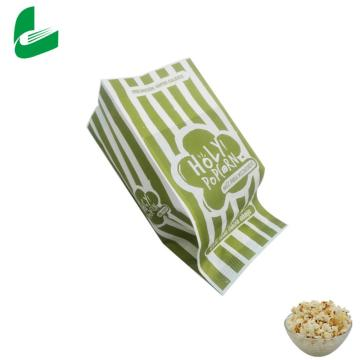 Sac de papier pop-corn biodégradable pour micro-ondes