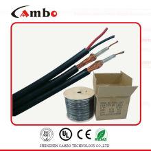 Коаксиальный кабель RG6 сиамская 2-х ядерная мощность