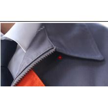 Tecido de Workwear de sarja de algodão poliéster resistente a risco