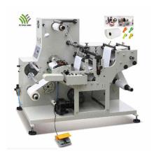 Máquina troqueladora rotativa de etiquetas de código de barras de alta velocidad