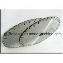 Silver Laser Welded Wet Cutting Granite Circle Saw Blade