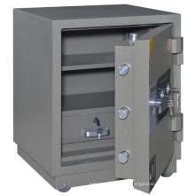SteelArt à prova de fogo dois chave cofre forte caixa de cofres de armazenamento cofre de peso caixa