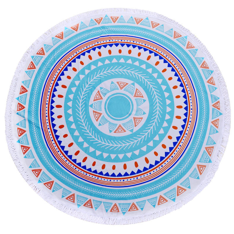 Printing Circle Beach Towels