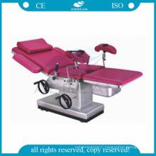 AG-C102D-2 xamination hôpital chirurgical table gynécologique portable