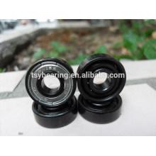 Rodamiento de cerámica de cerámica del patrón del nitruro del silicio Rodamiento de cerámica negro