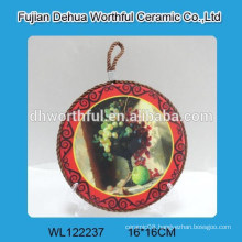 Morden ceramic pot holder with fruit design