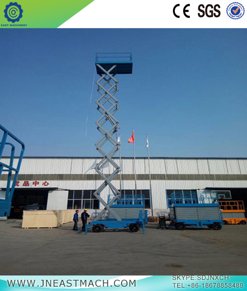Mobile Shear Fork Lift Platform