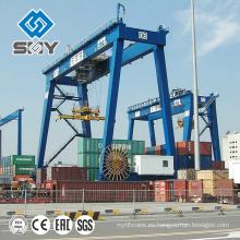 Grúa portacontenedores RMG para la venta, Crane Manufacturing Expert Products
