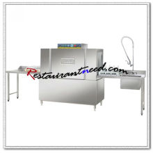 K715 Conveyor Commercial Dishwasher Fully Enclosed High Temperature Industrial Or Hotel Dishwasher