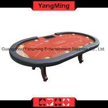 2-Generation Upgrade H Foot Texas Casino Table (YM-TB20)