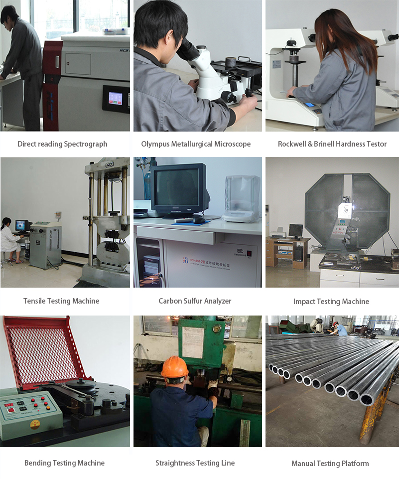tubing quality testing equipment
