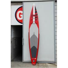 Hot-Selling placa de surf inflável vermelho e produto de alta qualidade para o cliente