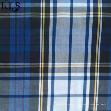 100% Cotton Poplin Woven Yarn Dyed Fabric for Shirts/Dress Rlsc40-33