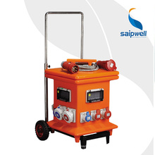 Saip Saipwell Немецкий США Пользовательские Высокое Качество Коробка Питания OEM ODM Портативный Водонепроницаемый IP65 Электрический Китай Распределения Коробка Питания