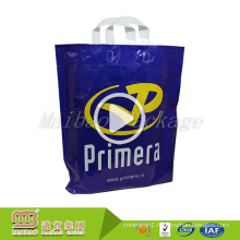 100% Eco-friendly Material HDPE/LDPE Custom Logo Plastic Shopping Bags for Clothes Packing