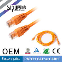 SIPU rj45 patch cord 1.5m sc fiber optic utp cat5e/cat6 cable 1meter patch cable
