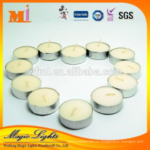 Velas blancas de cera baratas bonitas atractivas para la decoración casera
