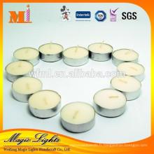 Bougies blanches de bonne qualité bon marché de cire pour la décoration à la maison