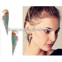 2014 Мода оптовой Alibaba позолоченные свинца и никеля бесплатно серьги очарование ювелирные изделия