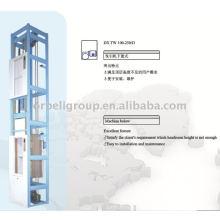 Turbucheur d'aliments, ascenseur, ascenseur