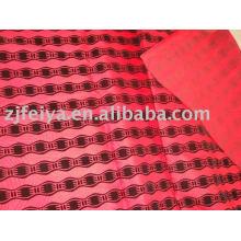 tela de la prenda de estampado en relieve de África