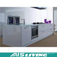 Armarios de cocina de alto brillo con isla de cocina (AIS-K251)