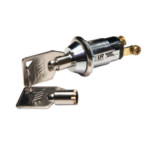 Однополюсный SPST19mm Key Switch