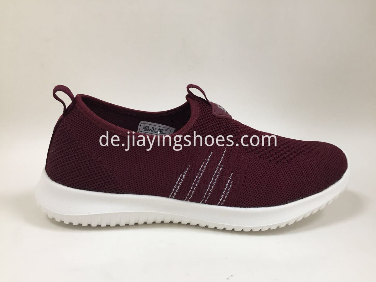 Wine Red Shoes