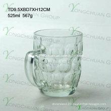 500 Ml Glass Bear Cup Pineapple