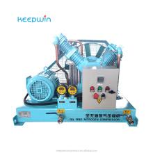 Oil Free Compressed Oxygen Gas Compressor machine Medical Hospital Oxygen gas compressor supplier