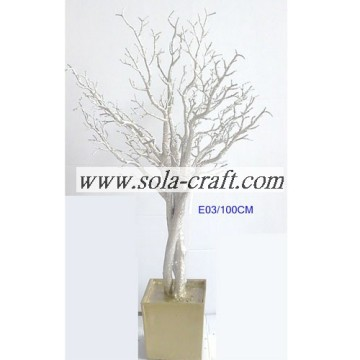 Golden Crystal Bead Tree con 90CM para decoración de fiesta