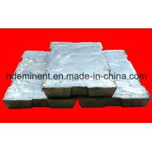 High Pure 99,9% Lingot de zinc / alliage de zinc avec un test de qualité